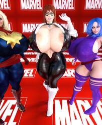 SuperTito - Trixie Cherri Zana Sexy Powers