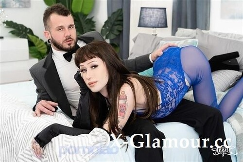 """Jenna Gargles, Johnny Hill in """"Black Widow And The Fatal Fuck"""" [FullHD]"""