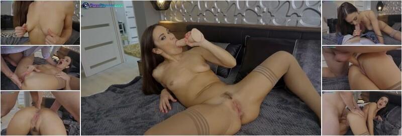 Alyssa Reece - Nympho queen Alyssa Reece got dildo and cock on her ass (FullHD)