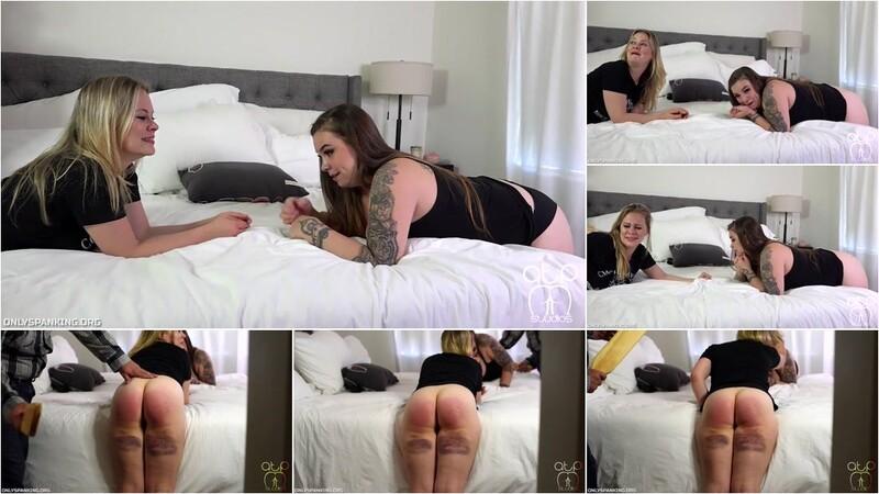 Stevie Rose, Veda Rose - Rose Sisters Paddled With Their Panties Down [HD 720p]