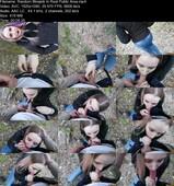 Stacy Starando - Public Blowjob In Park From Emo Girl (FullHD/419 MB)