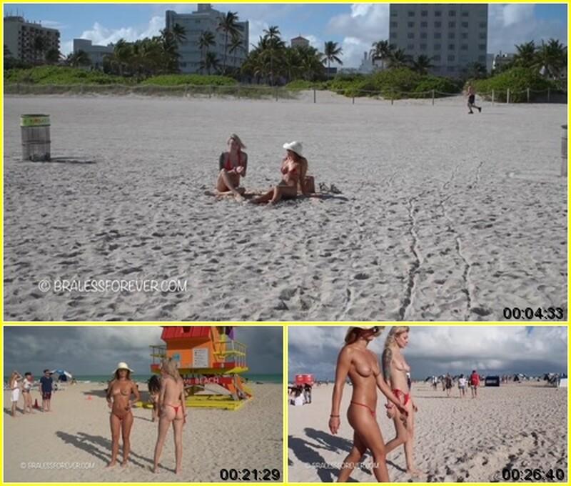 Alex - Red Bikinis on the Beach