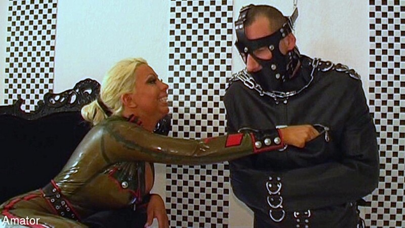 Lady Kate - Slave to Abuse - Part 1 - Strap-On [FullHD 1080P]