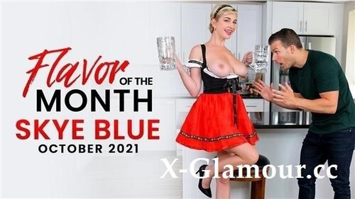 "Skye Blue in ""October 2021 Flavor Of The Month Skye Blue"" [FullHD]"