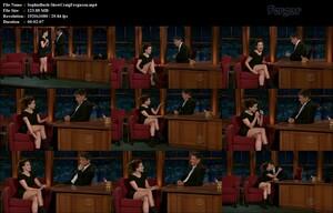 Sophia Bush Luciendo Piernas En Minivestido Con Botas En El Show De Craig Ferguson